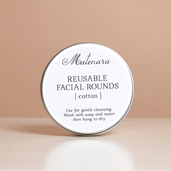 All-Natural Facial Rounds