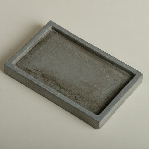 Grey Rectangle Tray