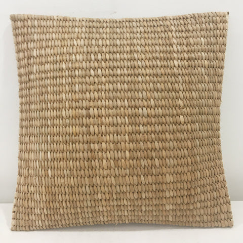 Seagrass pillow