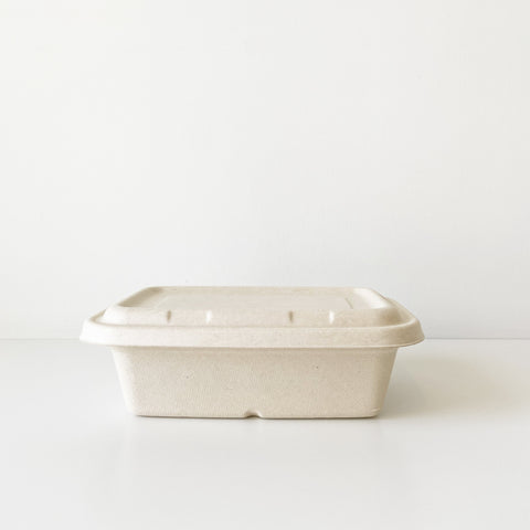 1250mL Party Tray - Sugarcane Bagasse Food Container