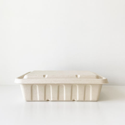 2500mL Party Tray - Sugarcane Bagasse Food Container