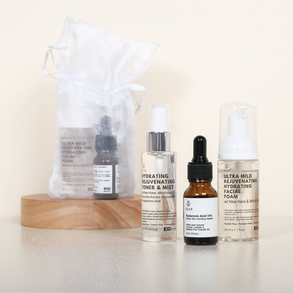 Oler Skincare Starter Set - Rejuvenating Clarifying & Hydrating