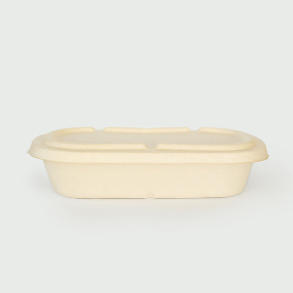 850mL Oval Bowl - Sugarcane Bagasse Food Container