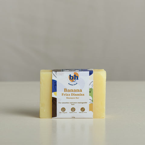 Bubble Head Organic 135g Shampoo Bars