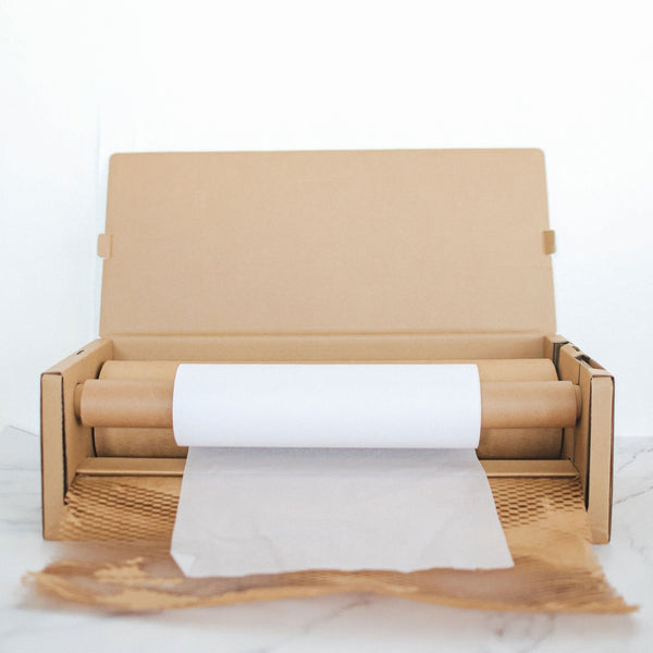 Honeycomb Kraft Paper + Lining with Dispenser (Bubble Wrap Alternative)