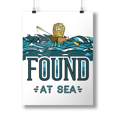 Found at Sea Poster