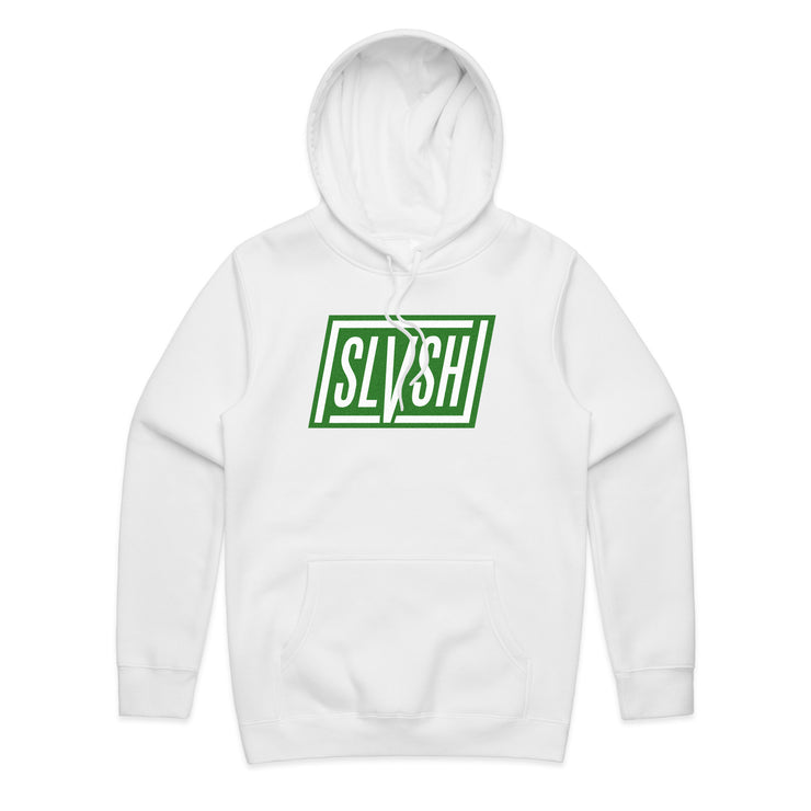 SLVSH Parallelo Hoodie - Riding Fit | White