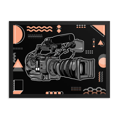 FS7 Camera Poster (Framed)