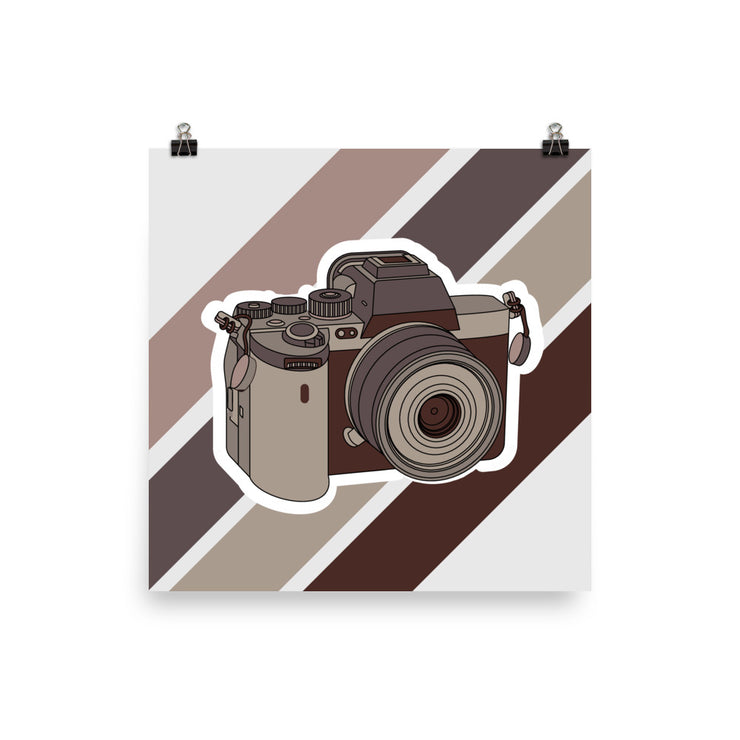 Sony A7S III Camera Poster (Unframed)