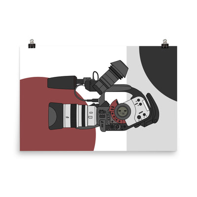 XL1 Camera Poster (Unframed)