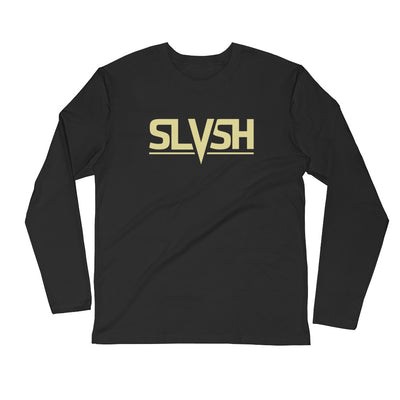 SLVSH Logo LS Shirt | Black