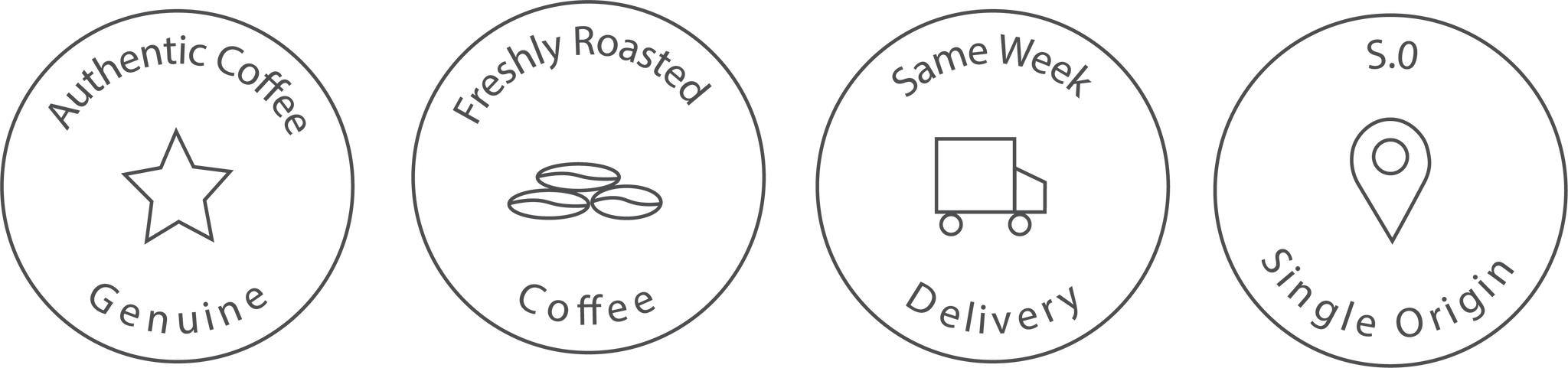rabbit hole roasters authentic coffee icon