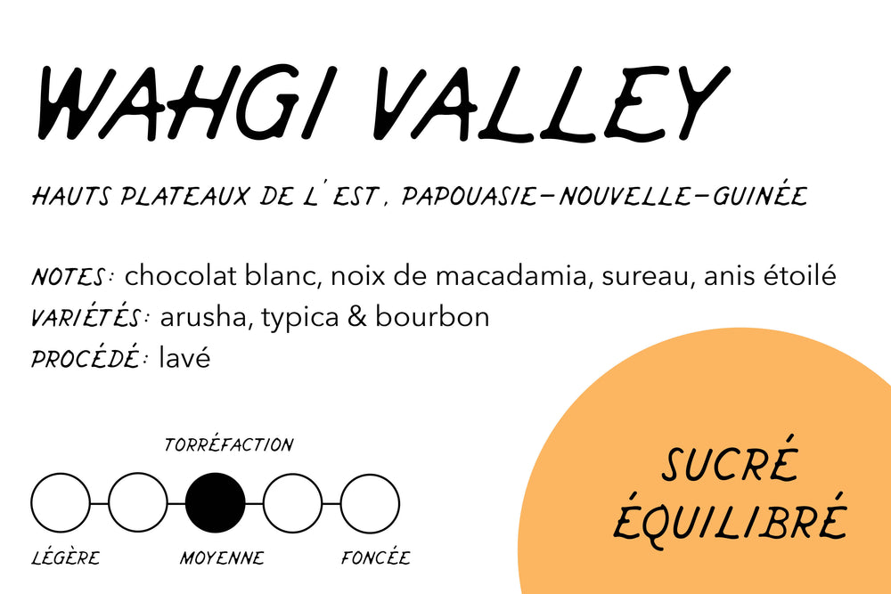 Rabbit Hole Coffee Roasters Wahgi Valley Label