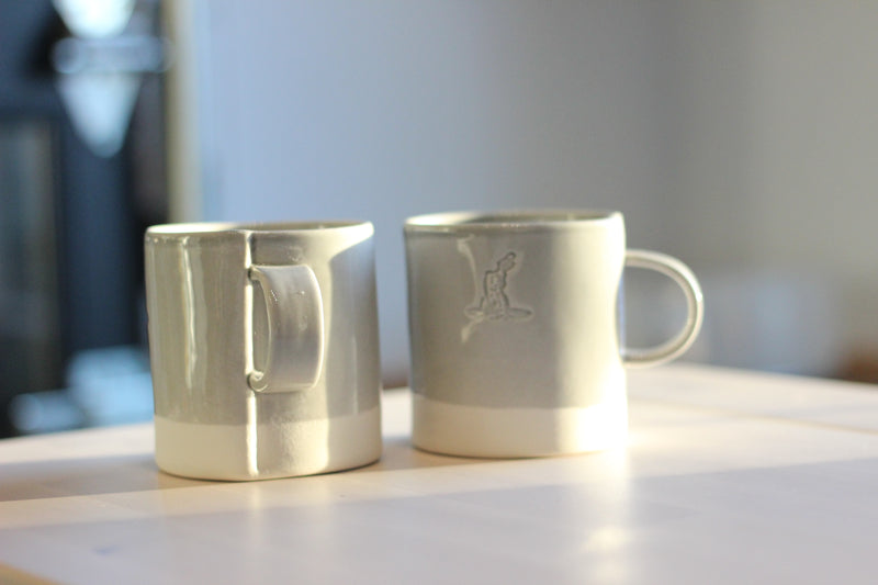 RHR Porcelain Mug - Grey
