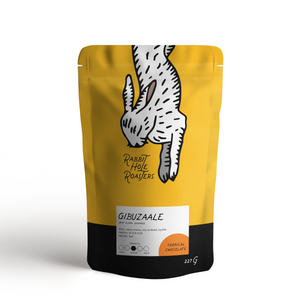 Rabbit Hole Coffee Roasters Guibuzaale Uganda bag