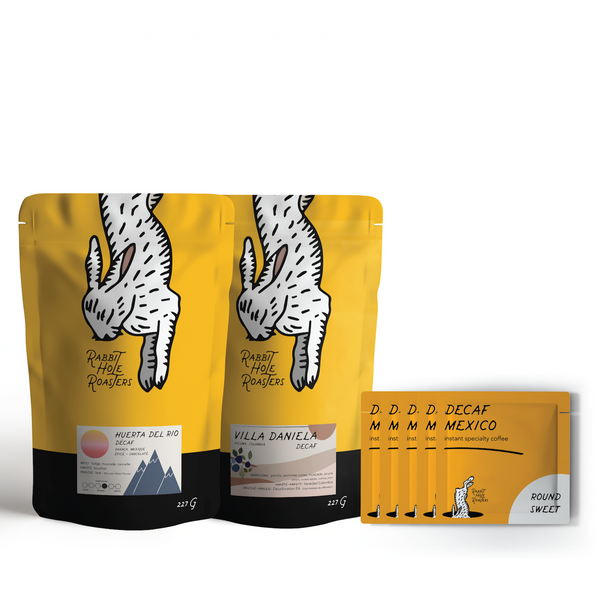 Rabbit Hole Roasters Decaf Bundle