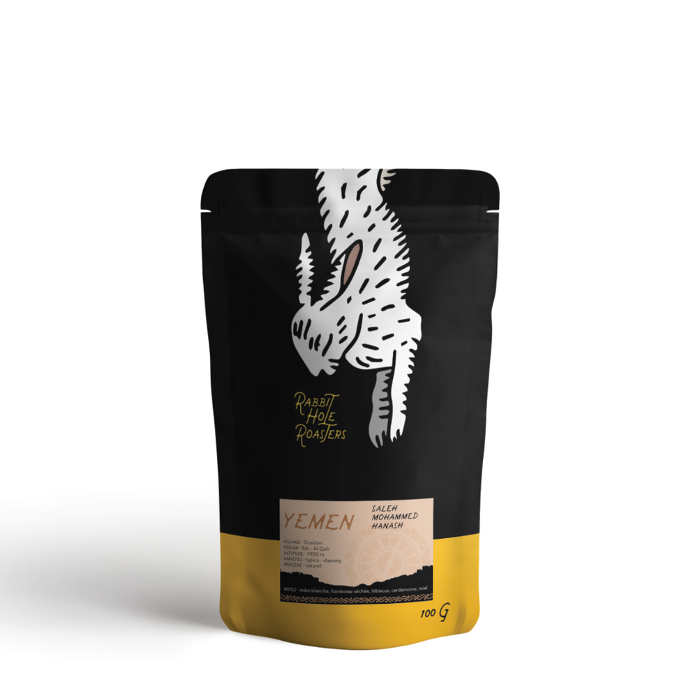 Rabbit Hole Coffee Roasters Yemen Bag Front
