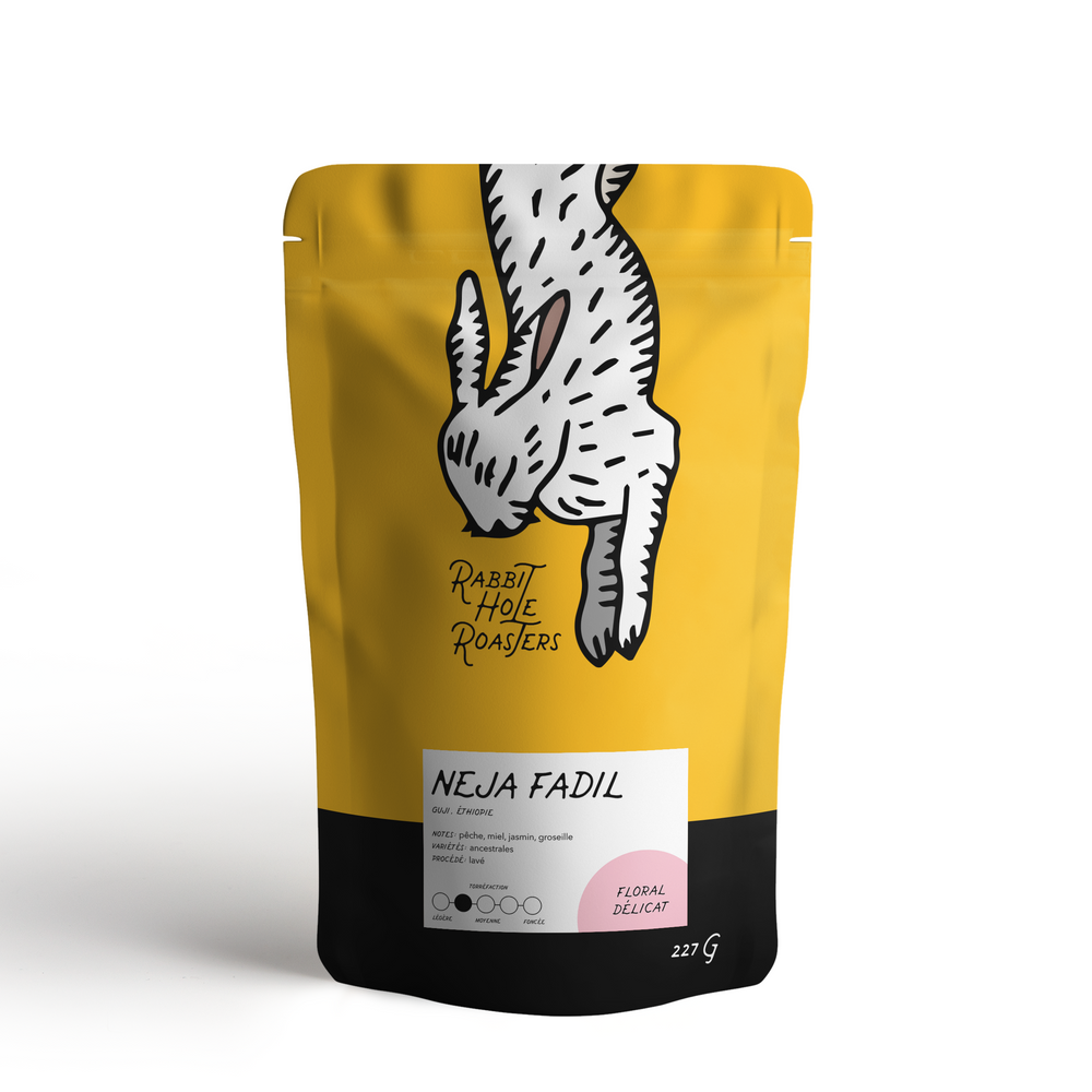 Rabbit Hole Coffee Roasters Neja Fadil Bag