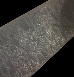 Stainless Damascus BlackOut
