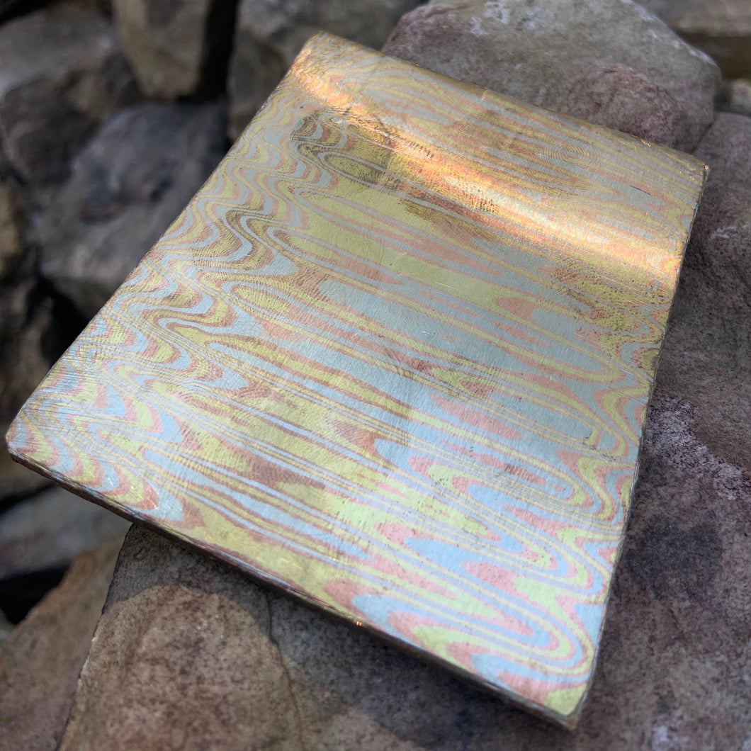 3 Tone Ladder Mokume