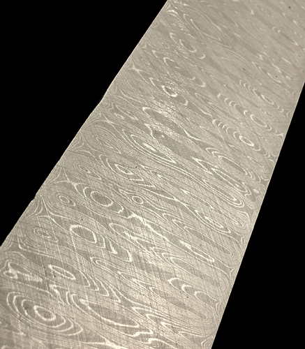 Stainless Steel Damascus Ladder