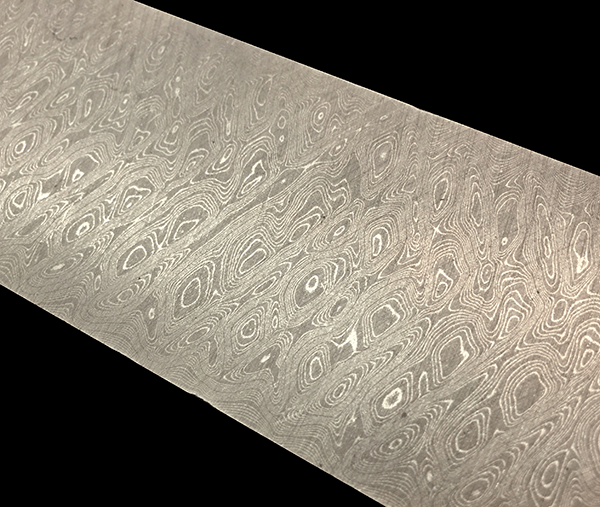 Stainless Steel Damascus Scrambled
