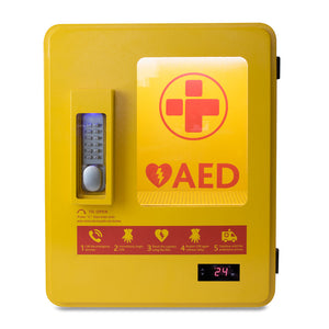Heated Outdoor AED Cabinet