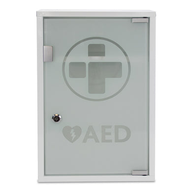 AED Cabinet with Glass Door