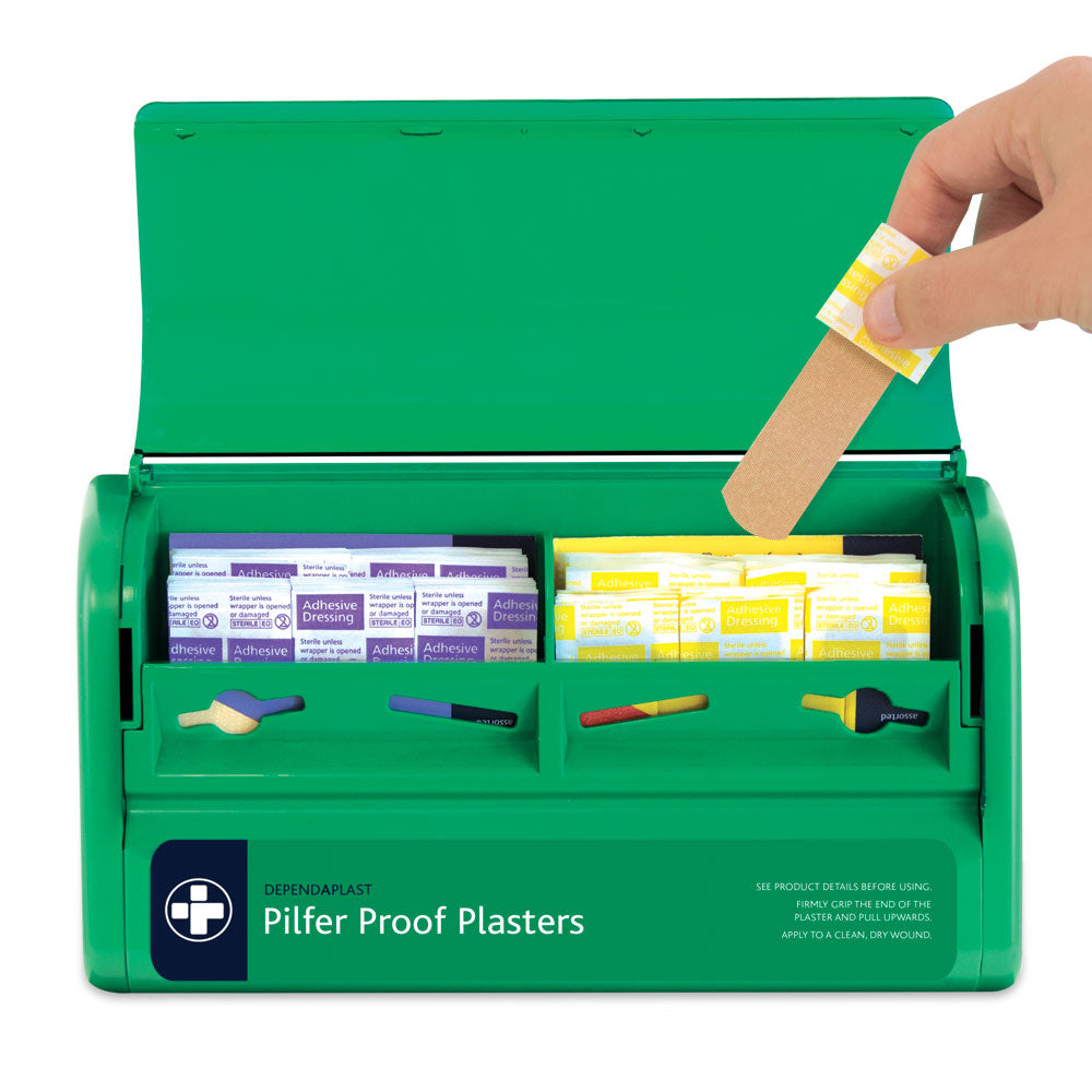 Pilfer Proof Plaster Dispenser