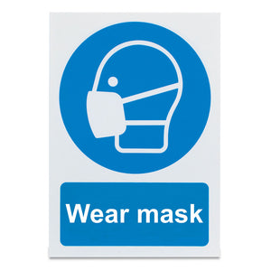 Masks Must Be Worn Sign