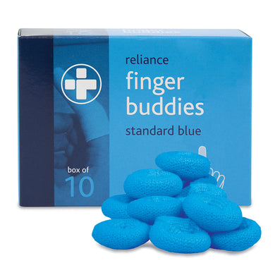 Finger Buddies – Blue Box of 10