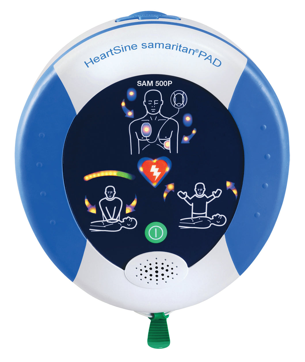 HeartSine samaritan PAD 500P With CPR Advisor Semi Automatic AED