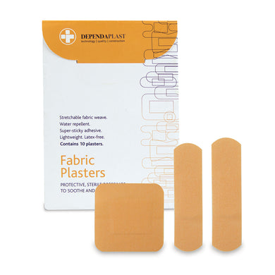 Dependaplast Advanced Fabric Plasters Assorted Wallet of 10