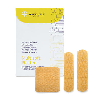 Dependaplast Multisoft Plasters Assorted Wallet of 10