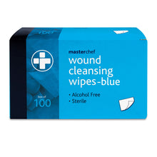 Load image into Gallery viewer, Reliwipe Wound Cleansing Wipes – Blue