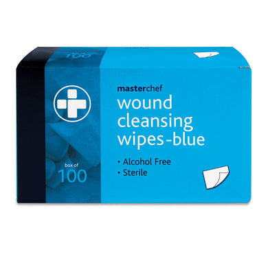 Reliwipe Wound Cleansing Wipes – Blue