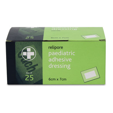 Paediatric 'Ouch' Adhesive Dressings