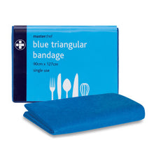 Load image into Gallery viewer, Triangular Bandage – Blue