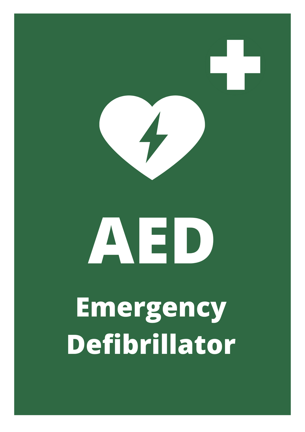 AED Poster Free Download