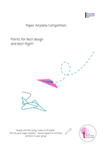 Load image into Gallery viewer, Mental Health Paper Airplane Competition E-Download
