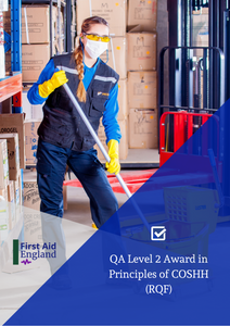 QA Level 2 Award in Principles of COSHH (RQF)