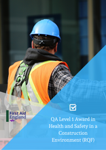 Load image into Gallery viewer, QA Level 1 Award in Health and Safety in a Construction Environment (RQF)