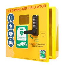 Load image into Gallery viewer, Outdoor Defibrillator Cabinet with Keypad Lock, Heating System and LED Light