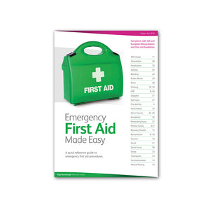 QA Level 3 Award in Emergency First Aid at Work RQF