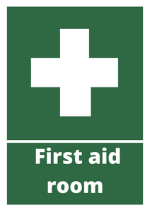 First Aid Room Poster Free Download