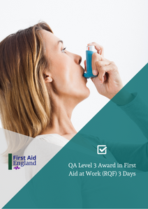 QA Level 3 Award in First Aid at Work (3 Days) RQF