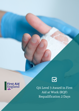 Load image into Gallery viewer, QA Level 3 Award in First Aid at Work Re-qualification (2 Days) (RQF) *Blended Learning Available