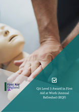 Load image into Gallery viewer, QA Level 3 Award in First Aid at Work (Annual Refresher) (RQF)