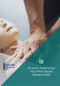QA Level 3 Award in First Aid at Work (Annual Refresher) (RQF)
