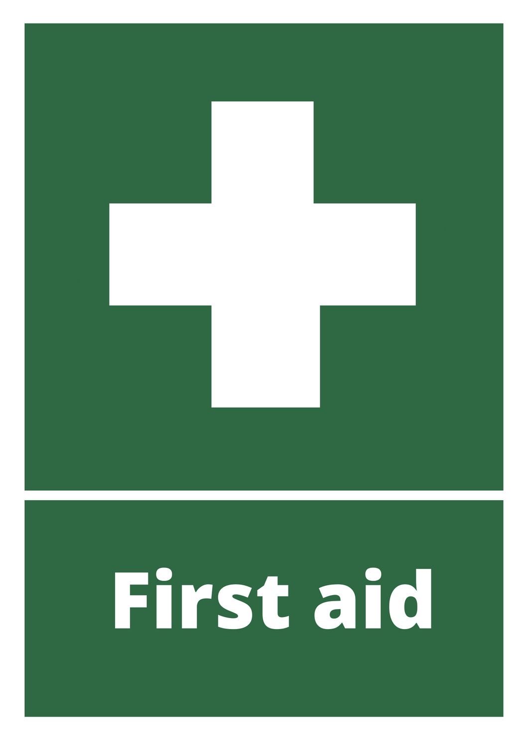 First Aid Poster Free Download